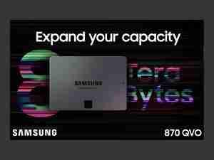 Samsung Advert 870 QVO